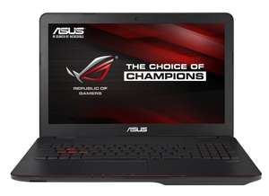 "PC Portable gamer 15.6"" Asus ROG G551JX-DM164H - Intel Core i7 - 8 Go de RAM - 1 To - Nvidia GeForce GTX950M - Windows 8.1"