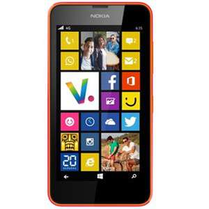 "Smartphone 4.5"" Nokia 635 - Orange (via ODR 50€)"