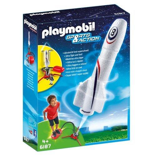Fusée avec plateforme de lancement Playmobil (6187)