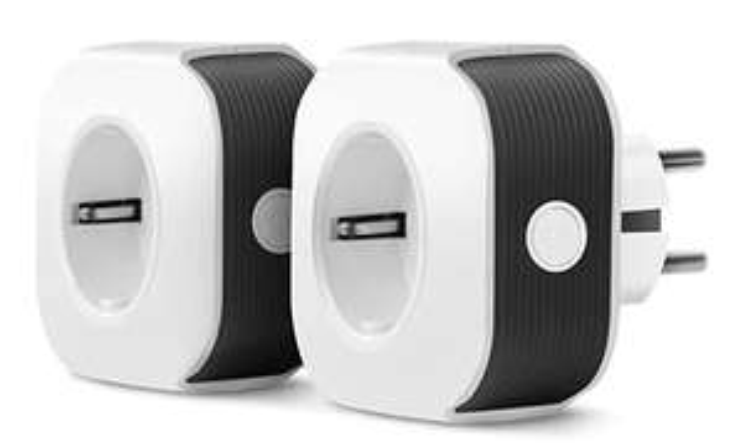 [Prime] Lot de 2 prises connectées WiFi Muzili - compatible Alexa et Google Home (vendeur tiers)