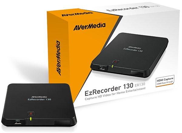 Enregistreur vidéo HD Avermedia EzRecorder 130