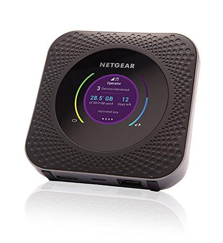 Routeur mobile Netgear Nighthawk MR1100-100EUS -Vitesses maximales de téléchargement de 1 Gbit/s et de Chargement de 150 Mbit/s