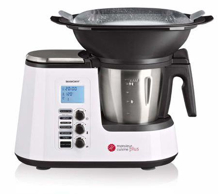 Robot de cuisine SilverCrest Monsieur Cuisine Édition Plus (Frontalier Luxembourg)