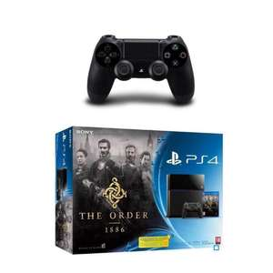 Console Sony PS4 500Go + The Order 1886 + 2ème manette