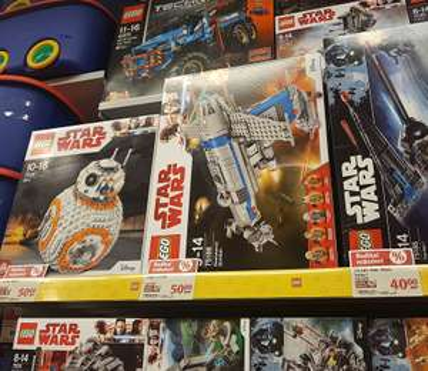 Jouet LEGO Star Wars - BB-8 (75187) - Globus Saarbrücken (Frontaliers Allemagne)
