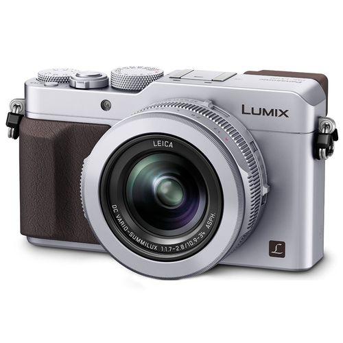 Appareil photo Panasonic Lumix DMC LX100 Silver (Avec ODR de 100€)