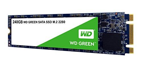 SSD interne M.2 Western Digital Green - 240Go, SATA III (540 Mo/s)