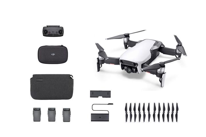 Drone DJI Mavic Air Fly More Combo (Blanc ou Noir)