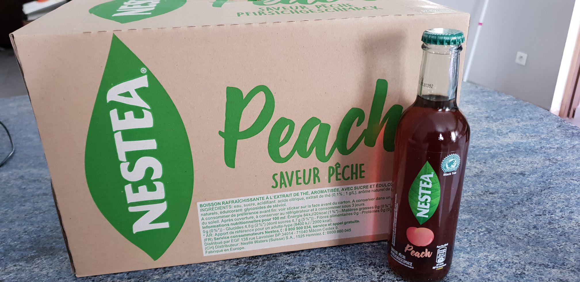 Pack de 24 Bouteilles de Nestea Pêche 14* 25cl - à L'entrepot destock (Douai 59)