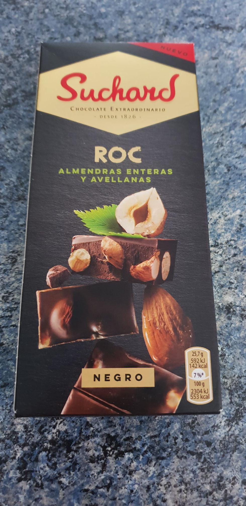 Tablette de Chocolat Noir Suchard ROC - à L'entrepot destock