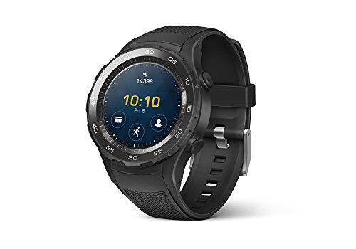 Montre connectée GPS Huawei Watch 2 Sport avec cardio - Noire