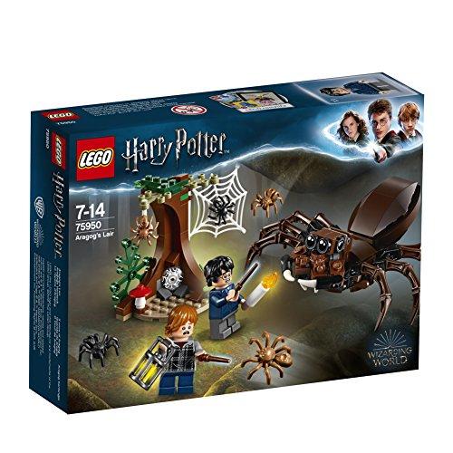Jouet Lego Harry Potter - Le repère d'Aragog (75950)