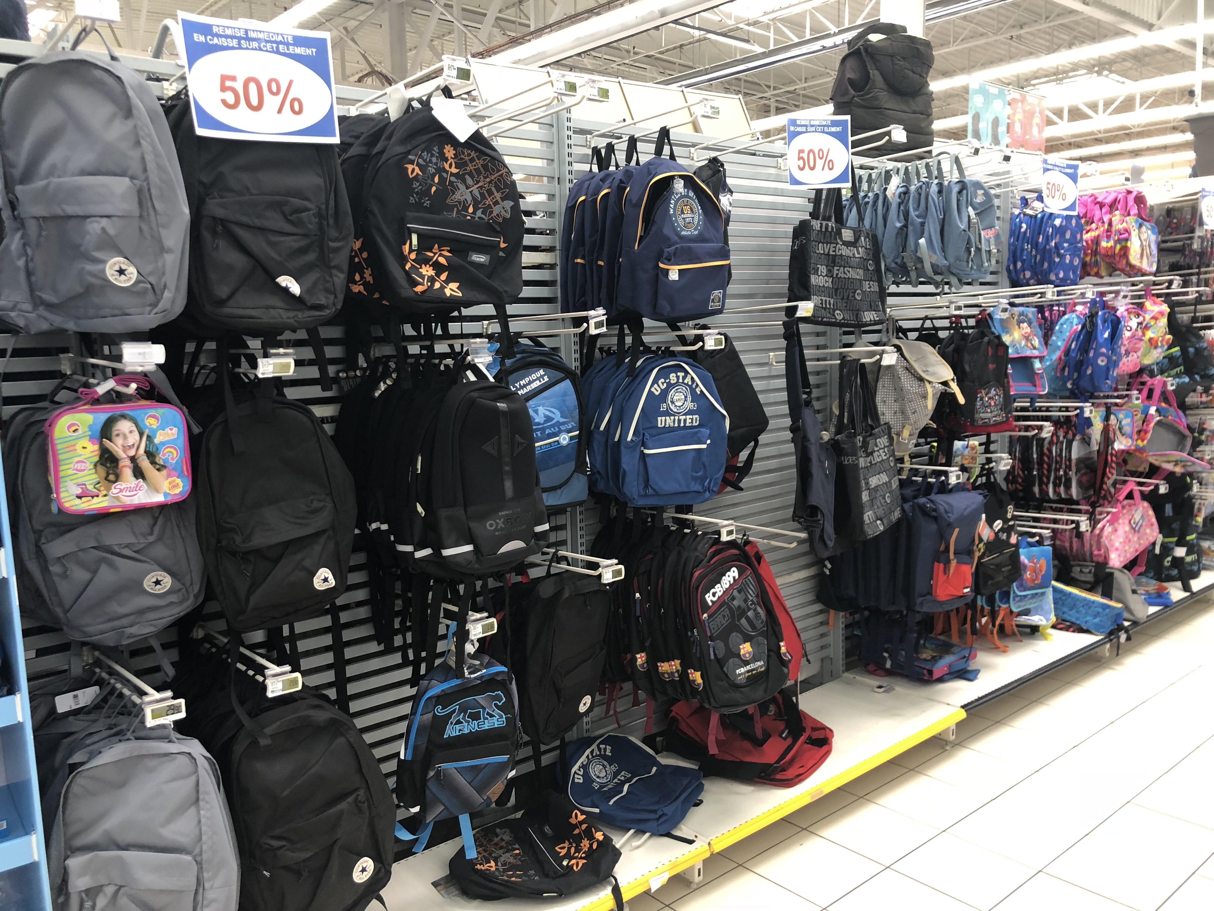 50% de réduction sur une sélection de sacs à dos - Caudry (59)