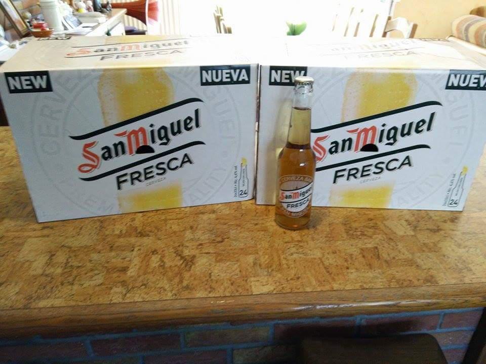 Bière blonde San Miguel Fresca 48x33cl