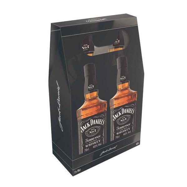 2 Bouteilles de Whiskey Jack Daniels - 2 x 70cl
