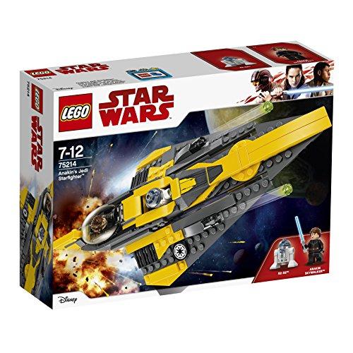 Jeu de Construction Lego Star Wars - Anakin's Jedi Starfighter - 75214