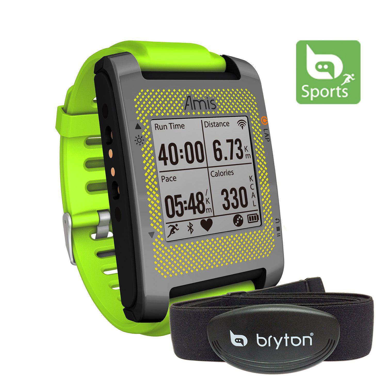 Montre GPS Bryton Amis S630H avec ceinture cardiaque