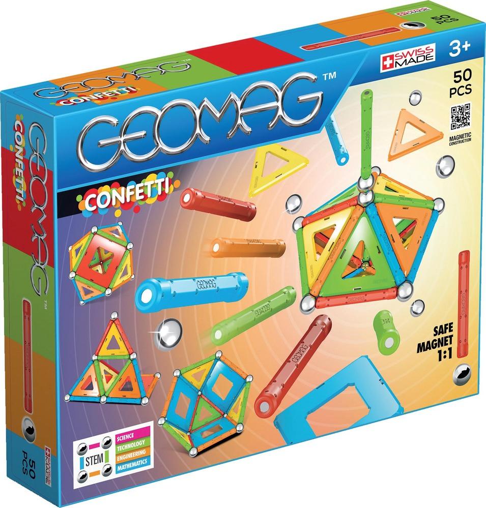 Jeu Geomag Confetti 00352 - 50 pièces