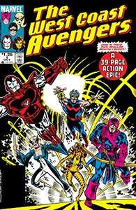 Comic Avengers West Coast 1985-1994 (Numérique, en Anglais), numéro 1