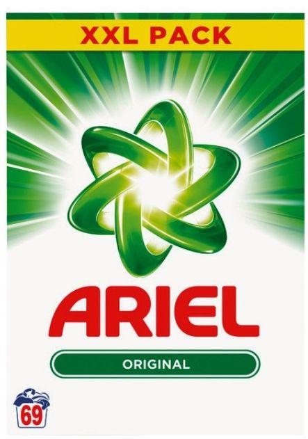1 Paquet de Lessive Poudre Ariel - 69 lessives (4,485 kg)