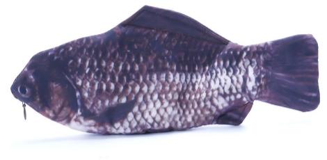 Trousse en forme de poisson