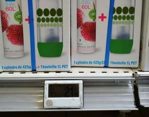 Recharge supplémentaire Sodastream