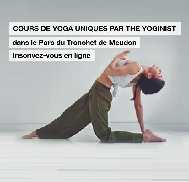 Cours de Yoga Gratuits - Parc du Tronchet à Meudon (92) et Jardins du Château de Versailles (78)