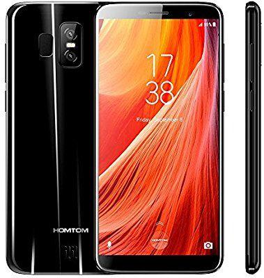 """Smartphone 5.5"""" HomTom S7 - HD IPS, RAM 3Go; 32Go, Android 7.0 (Vendeur Tiers)"""