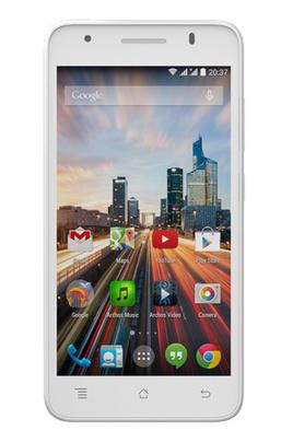 "Smartphone 5"" Archos 50C Helium 4G - Blanc"