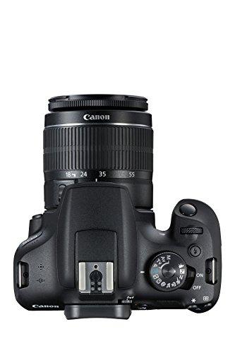 Appareil Photo Reflex Numérique Canon EOS 2000D  + Objectif EF-S 18-55 mm F/3.5-5.6 IS II