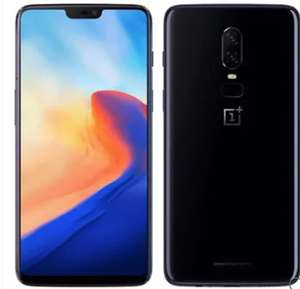 "Smartphone 6,28"" OnePlus 6 Dual SIM International Version - Full HD+, SnapDragon 845, RAM 8Go, 128Go, 4G (B20/B28)"