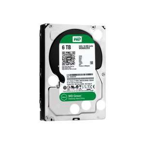 Disque dur interne WD Green WD60EZRX - SATA 6Gb/s - 6To