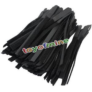 Lot de 150 Attaches Câbles en Velcro