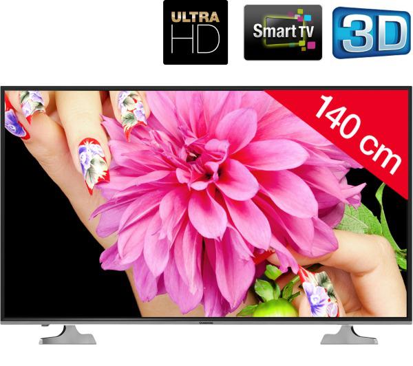 """TV LED 55"""" Changhong UHD55D5000IS - 3D, Smart TV, Ultra HD"""