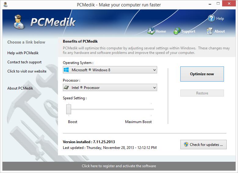 PCMedik 7 gratuit sur PC