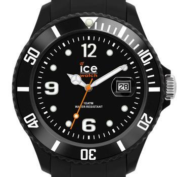 Montre mixte Ice watch - Quartz Analogique - Ice-Solid - Black - Small - Cadran Noir
