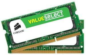 Mémoire RAM So-dimm Corsair ValueSelect DDR3-1600 (2x8go) Garantie à vie