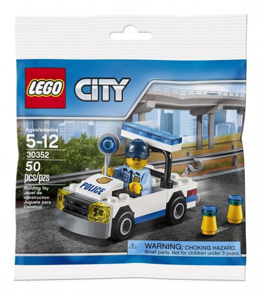Voiture de police Lego Mini Build 6190128
