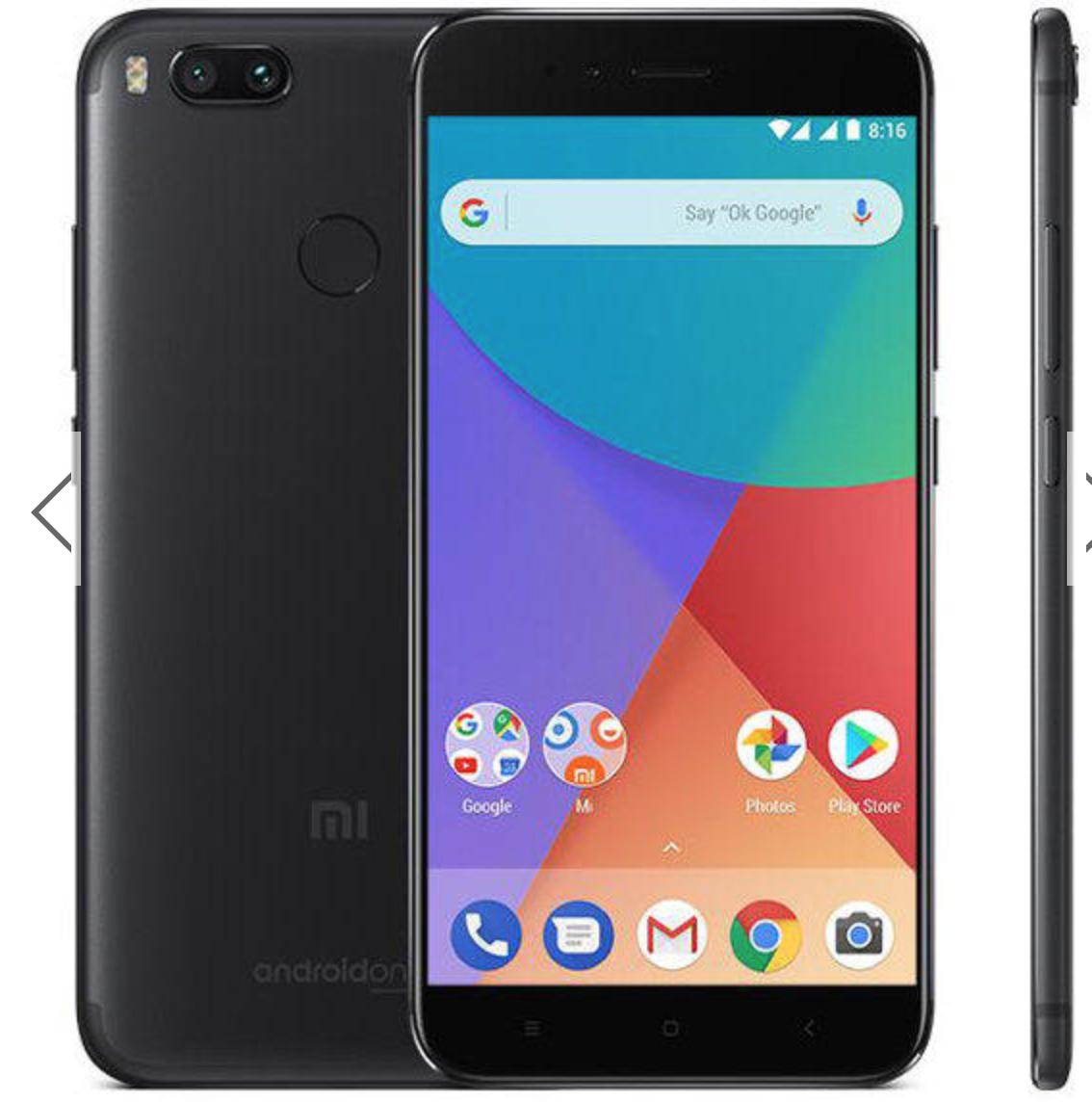 """Smartphone 5,5"""" Xiaomi Mi A1 - Full HD, Snapdragon 625, RAM 4Go, 64Go, 4G (B20)"""