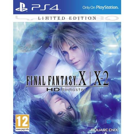 Final Fantasy X - X-2 HD Remaster sur PS4 - Edition limitée Steelbook