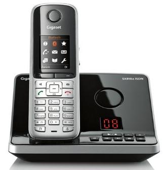Téléphone sans fil Gigaset SX810A avec répondeur - ISDN