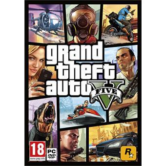 GTA V (version Boite) sur PC
