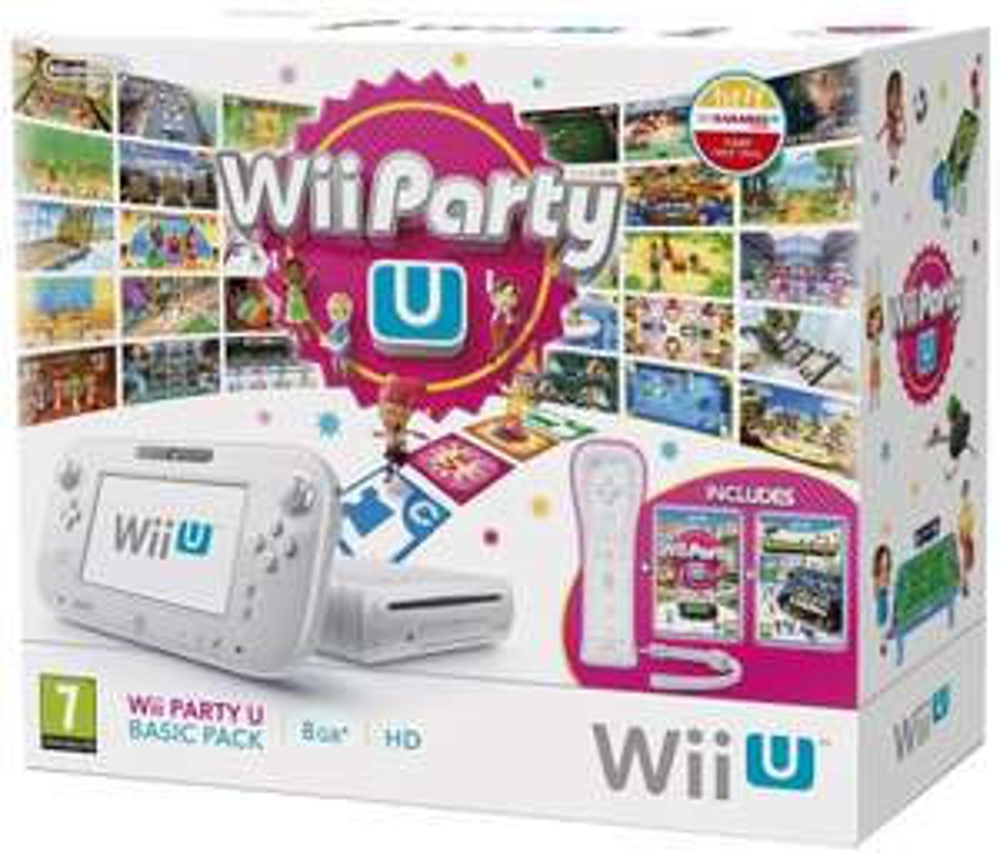 Console Nintendo Wii U Pack Wii Party U + Nintendo Land