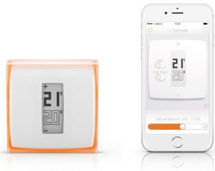 Thermostat connecté Netatmo - NTH01-EN-EU