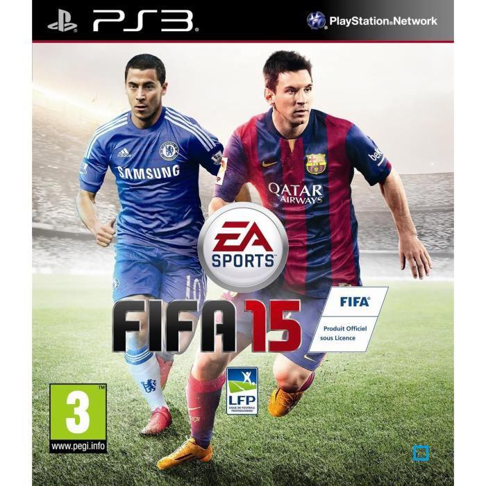 Jeu Fifa 15 sur PS3