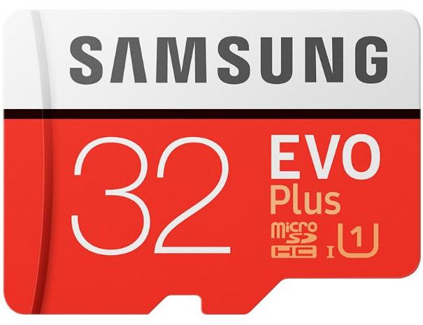 Carte microSDHC Samsung Evo Plus U1 - 32 Go