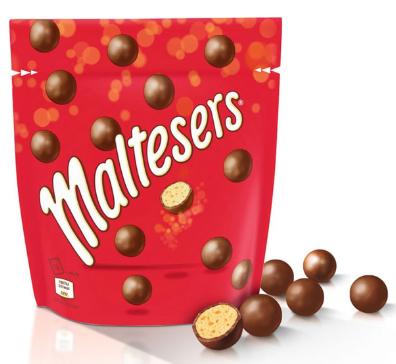 Billes de céréales Maltesers enrobées de chocolat (Saint-Jean-de-Védas 34)