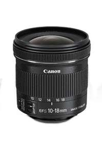 Canon Objectif EF-S 10-18 mm (ODR 30€)