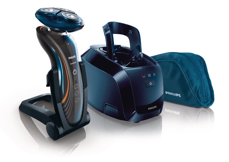 Rasoir Wet & Dry Senso Touch 2D avec Jet Clean System Philips - RQ1185/22 (ODR 30€)
