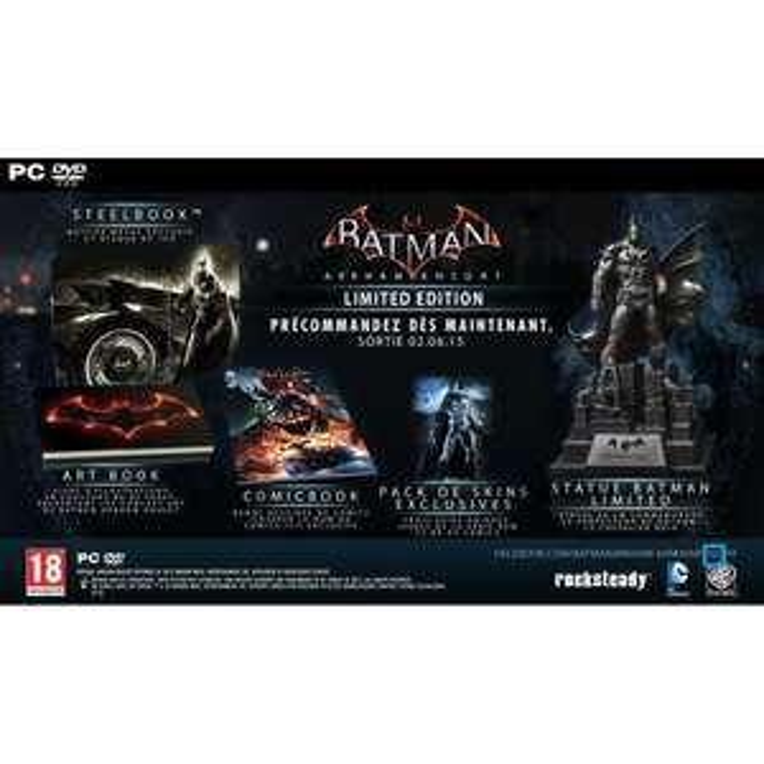 Precommande: Batman Arkham Knight Edition Limitée Jeu PC